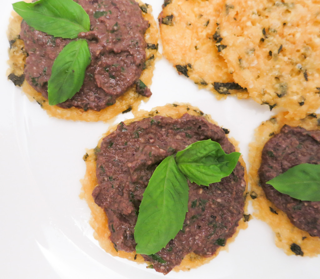 Olive Tapenade with Rosemary & Basil. A simply addicting appetizer!