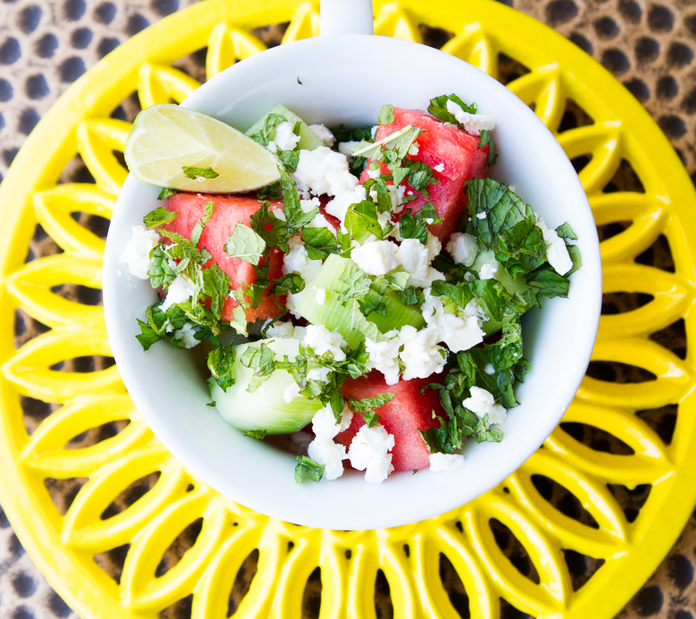 REFRESHING SALAD YOU CAN ENJOY IN THE HEAT!