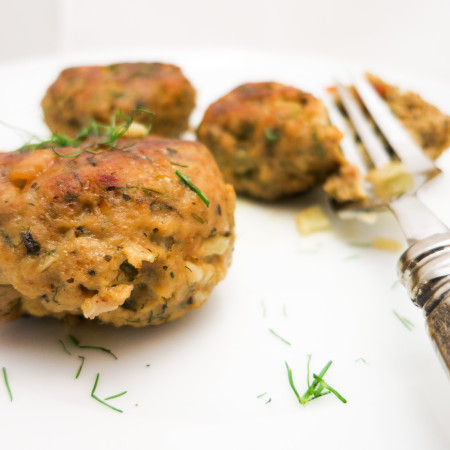 Turkey Meatballs with Fennel & Carrot