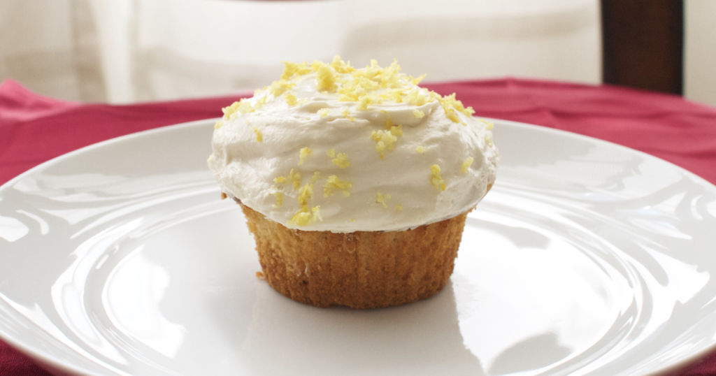 Lemon-Ricotta Cupcakes with Fluffy Lemon Frosting. The perfect cupcake!