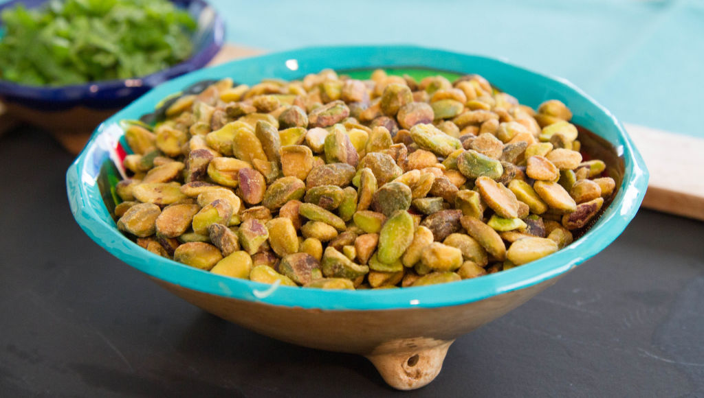 TIME SAVER ALERT! Buy shelled pistachios to save time!