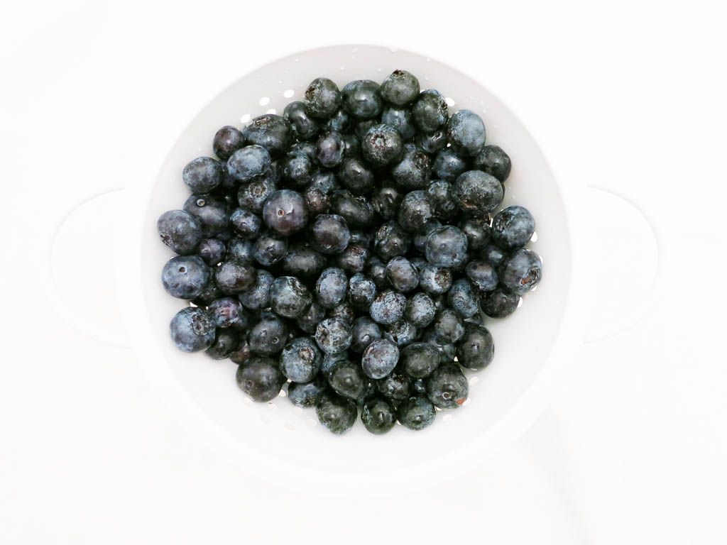 BLUEBERRIES ARE A GREAT SOURCE OF MANGANESE, WHICH IS IMPORTANT FOR BONE DEVELOPMENT