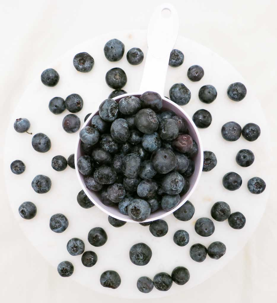 MANGANESE, FOUND IN BLUEBERRIES HELP TURN CARBS, FATS AND PROTEINS INTO ENERGY.