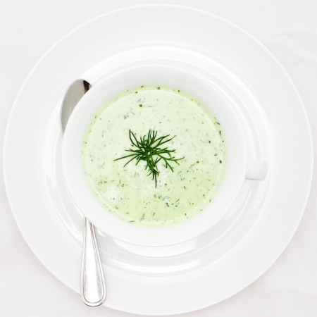 COOL OFF WITH THIS HEALTHY, CHILLED SOUP!
